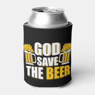 i love beer Custom Can Cooler