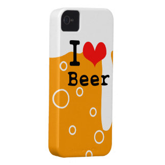 I Love Beer iPhone 4 Case-Mate Case