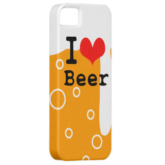 I Love Beer iPhone 5 Case