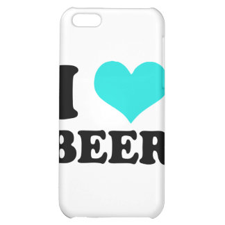 I Love Beer Cover For iPhone 5C