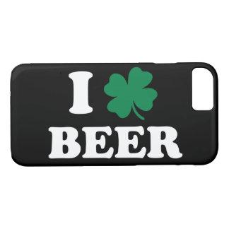 I Love Beer Shamrock iPhone 8/7 Case