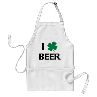 I Love Beer Standard Apron