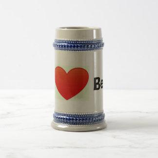 I love beer stein mug