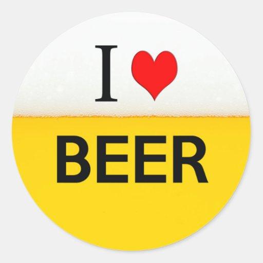 i love beer texture beverage alcohol drink heart sticker