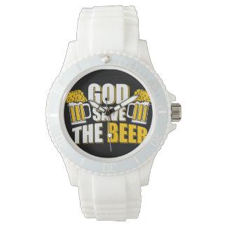 i love beer wristwatch