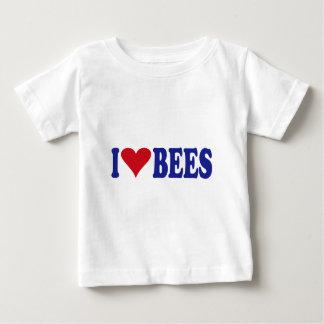 I Love Bees Baby T-Shirt