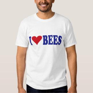 I Love Bees Tee Shirt