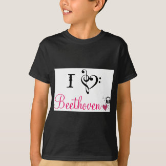 I love Beethoven T-Shirt