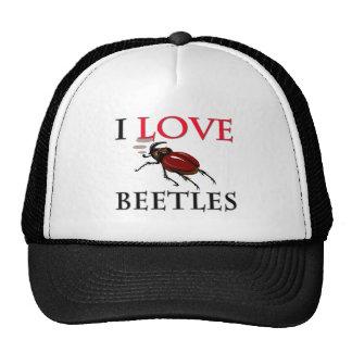 I Love Beetles Trucker Hats