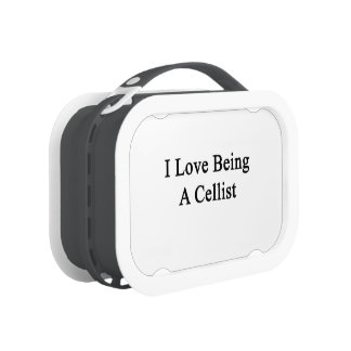 I Love Being A Cellist Lunchbox