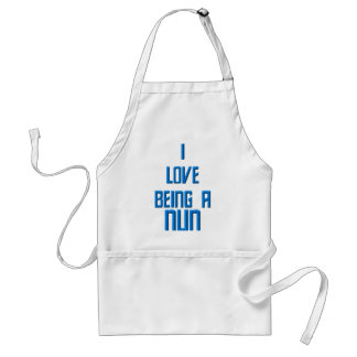 I Love Being A Nun Standard Apron