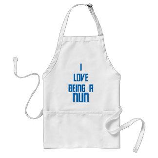 I Love Being A Nun Standard Apron