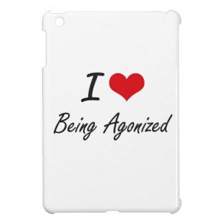 I Love Being Agonized Artistic Design iPad Mini Covers
