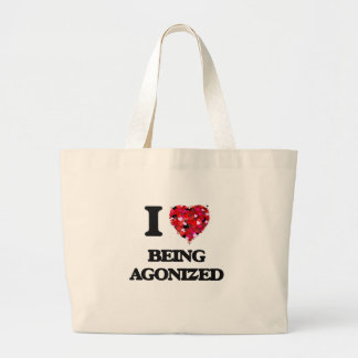 I Love Being Agonized Jumbo Tote Bag