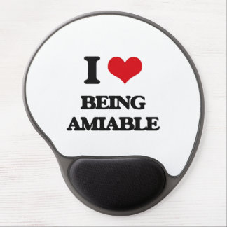 I Love Being Amiable Gel Mousepads