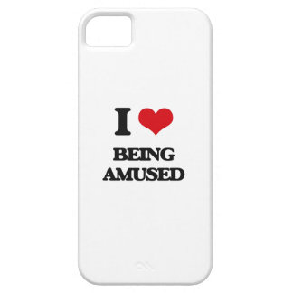 I Love Being Amused iPhone 5 Cases