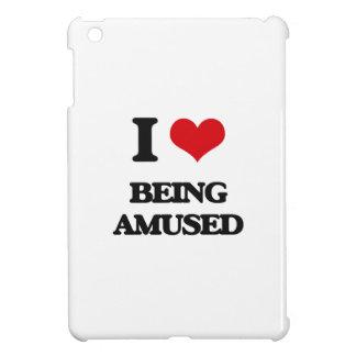 I Love Being Amused iPad Mini Cases