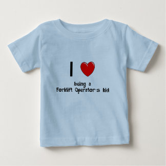 I love being an Forklift Operator's Kid T-Shirt