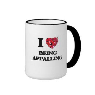 I Love Being Appalling Ringer Mug
