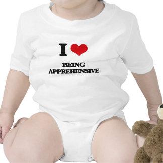 I Love Being Apprehensive Baby Bodysuit