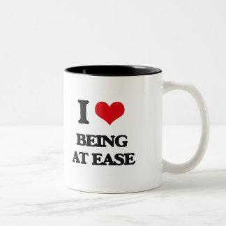 I love Being At Ease Coffee Mug