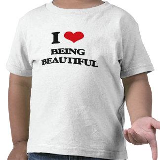 I Love Being Beautiful Tee Shirt