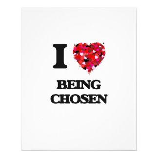 I love Being Chosen 11.5 Cm X 14 Cm Flyer