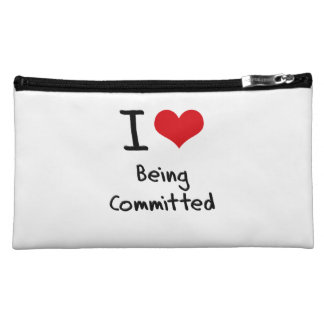 I love Being Committed Makeup Bag