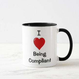 I Love Being Compliant - Cheeky Double-sided Mug