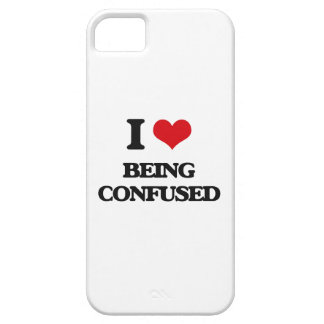 I love Being Confused iPhone 5 Covers