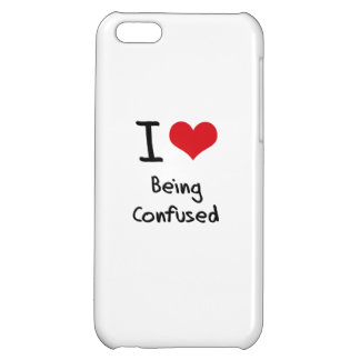 I love Being Confused iPhone 5C Covers