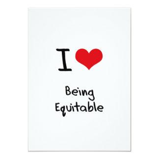 I love Being Equitable Custom Invites