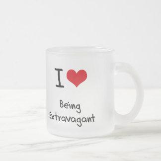 I love Being Extravagant Coffee Mug