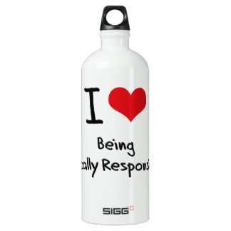 I Love Being Fiscally Responsible SIGG Traveller 1.0L Water Bottle