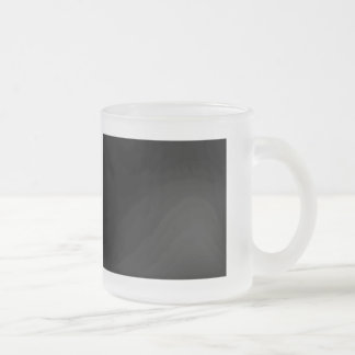 I Love Being Fussy Frosted Glass Mug