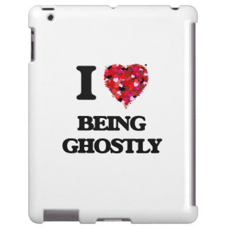I Love Being Ghostly iPad Case