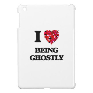 I Love Being Ghostly iPad Mini Cover
