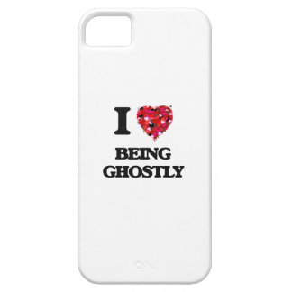 I Love Being Ghostly iPhone 5 Covers