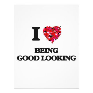I Love Being Good Looking 21.5 Cm X 28 Cm Flyer