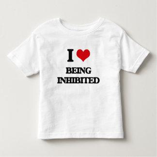I Love Being Inhibited Tshirt