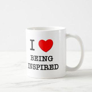 I Love Being Inspired Coffee Mugs