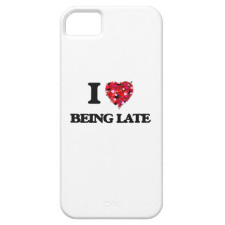 I Love Being Late iPhone 5 Cover