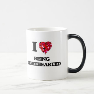 I Love Being Lighthearted Morphing Mug