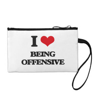 I Love Being Offensive Coin Wallets