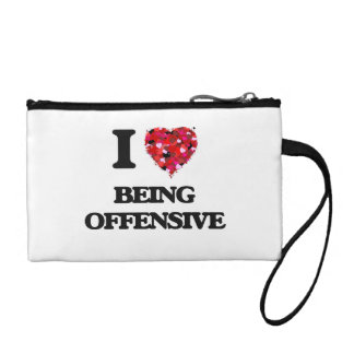 I Love Being Offensive Coin Wallet