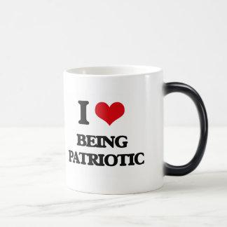 I Love Being Patriotic Mug
