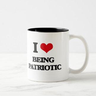 I Love Being Patriotic Coffee Mug
