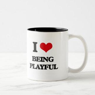 I Love Being Playful Coffee Mugs