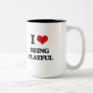 I Love Being Playful Mugs