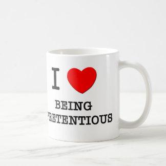 I Love Being Pretentious Mugs
